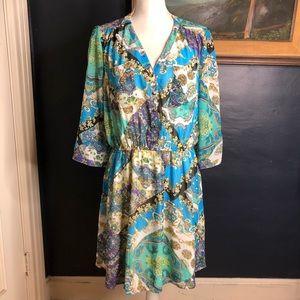 New Umgee Blouson mini dress. XL